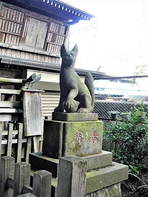 柳森神社-おいなりさんーその2