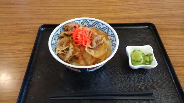 牛丼20170806