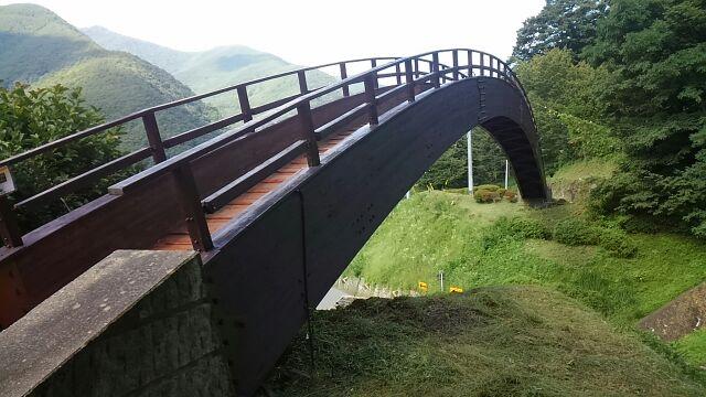 道の駅風穴の里太鼓橋2017
