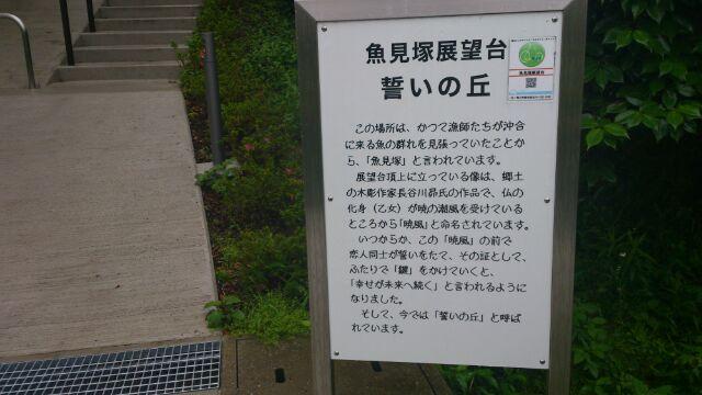 魚見塚展望台 案内