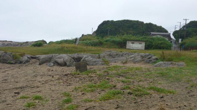 布良海岸セット跡地2012