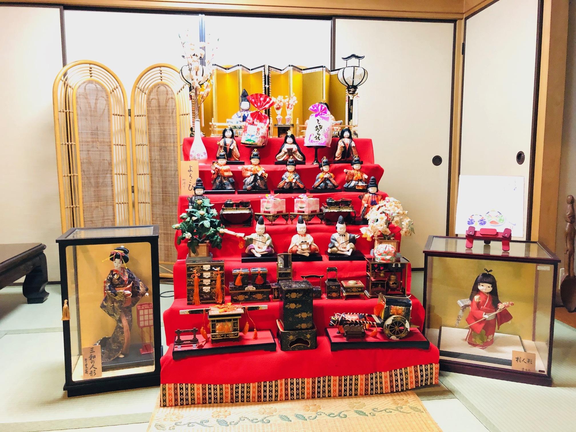 20190222spacblog雛飾り1