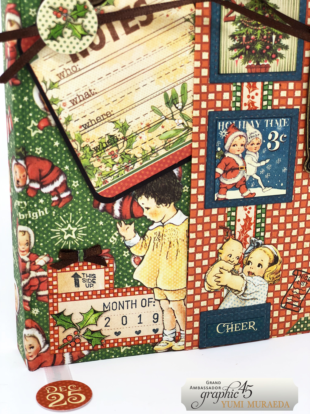 14Advent Calendar Bookdesign by Yumi Muraeda products by Graphic 45