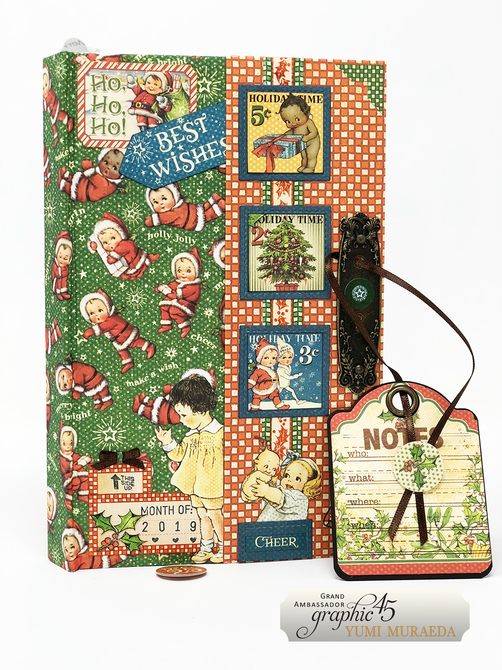 13Advent Calendar Bookdesign by Yumi Muraeda products by Graphic 45