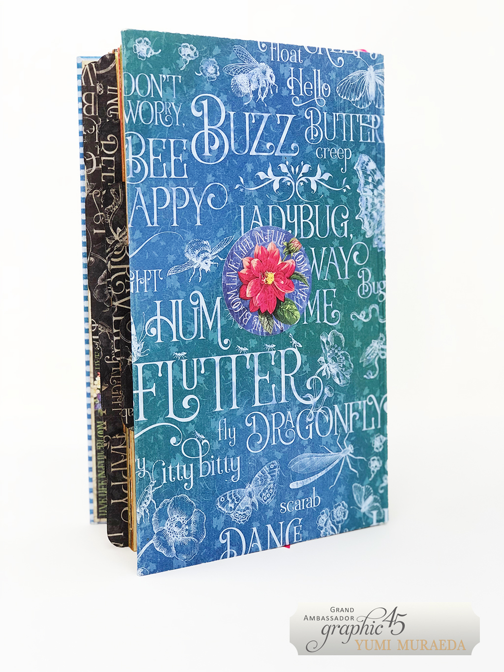 7Advent Calendar Bookdesign by Yumi Muraeda products by Graphic 45