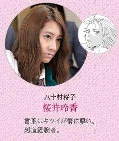 あさひなぐ キャラクター 映画登場人物 八十村将子 桜井玲香