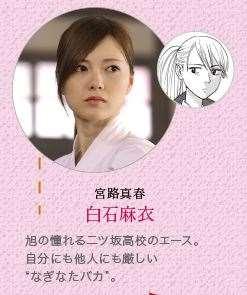 あさひなぐ キャラクター 映画登場人物 宮路真春 白石麻衣