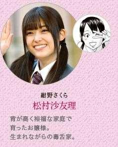 あさひなぐ キャラクター 映画登場人物 紺野さくら 松村沙友理