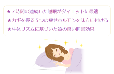 睡眠ダイエット
