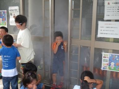 煙中体験も実施