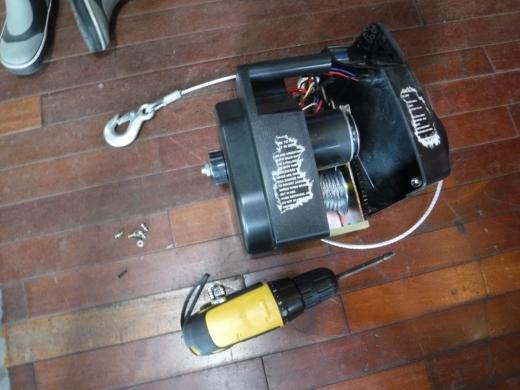 ポータブルウインチ修理 (5)