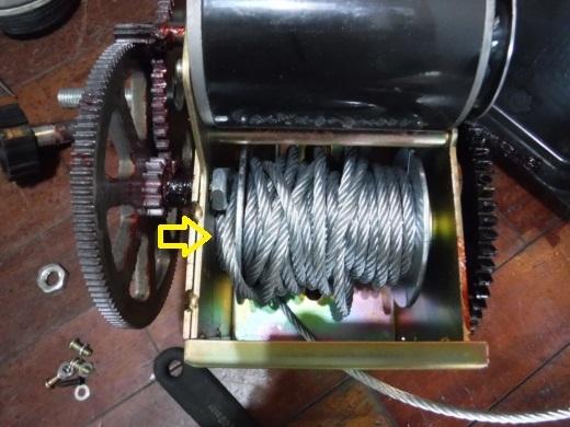 ポータブルウインチ修理 (8)