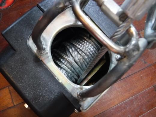 ポータブルウインチ修理 (43)