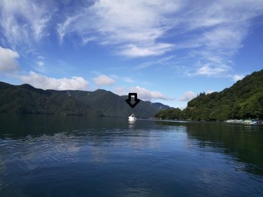 中禅寺湖でボート (10)