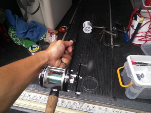 ①釣りの準備 (2)