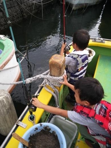 ①初船釣り (9)