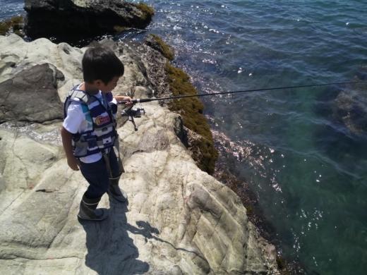 冨浦漁港で釣り (50)