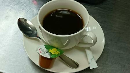 ホットコーヒー五反田