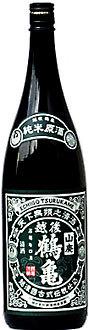 越後鶴亀山廃純米原酒