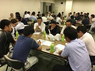 参加者は熱心に討議してくれました。