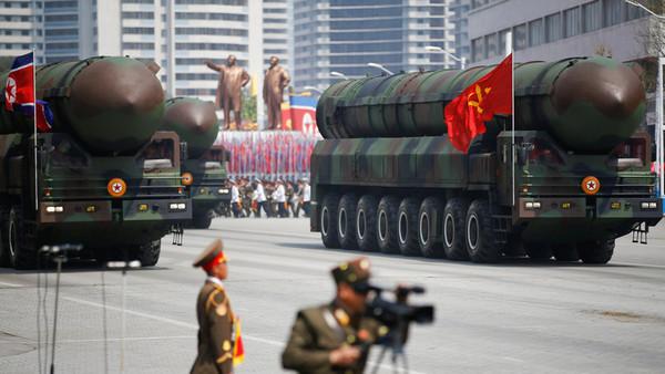 ICBM 北朝鮮 ウクライナ