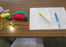 920 受付しながら編み編み