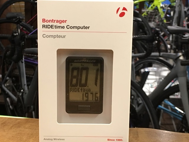 RIDEtime Cycling Computer
