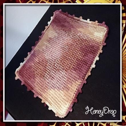 プレーン編みミニマット2