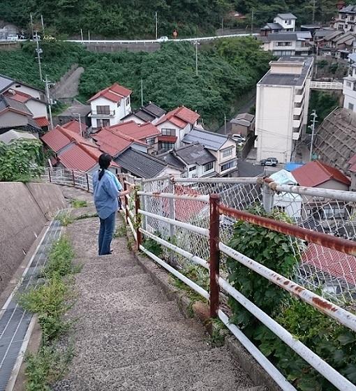 階段だらけの1