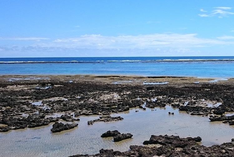 奥武島の海岸