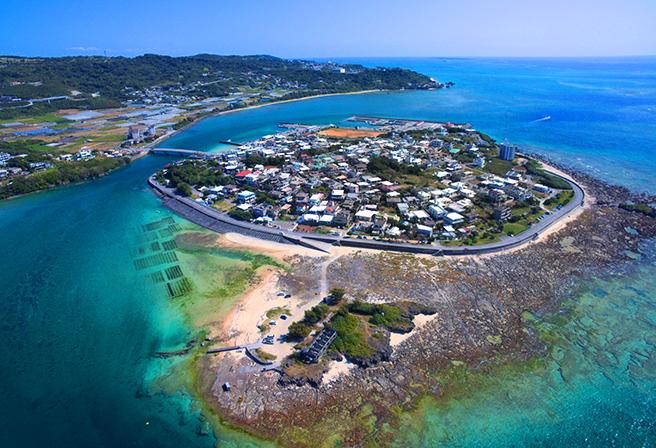 多言語の沖縄観光情報ポータルサイト『沖縄インフォ』より奥武島