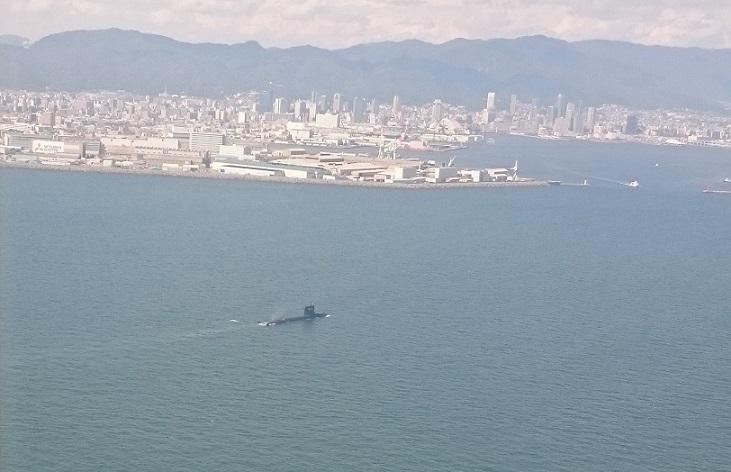 潜水艦だー