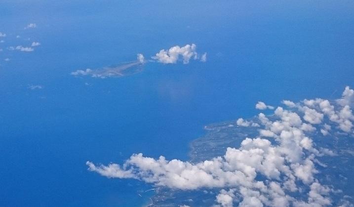 種子島宇宙センター近くの島