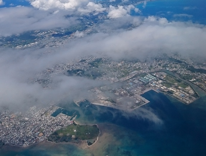 米軍基地泡瀬通信施設、具志川、洲崎