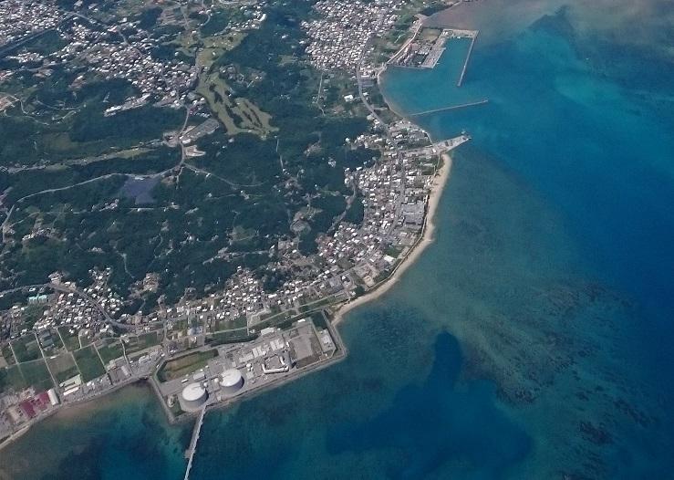 沖縄電力吉の浦火力発電所