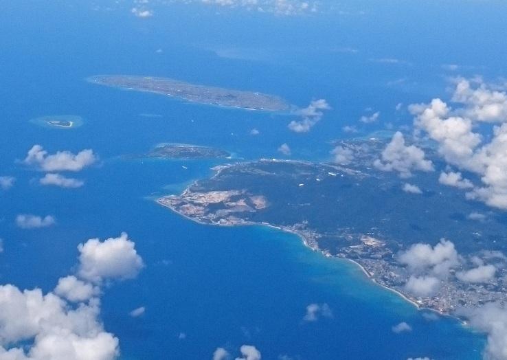 伊江島、水納島、瀬底島