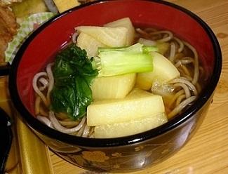 1,蕪ダシ蕎麦