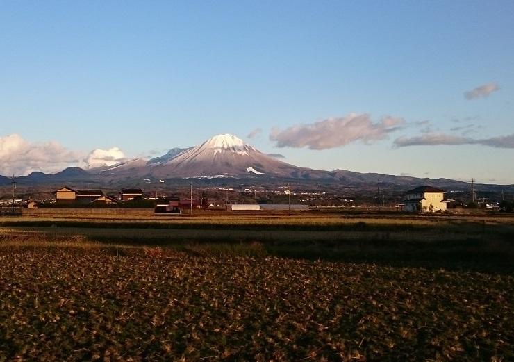 12月の霊峰