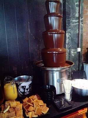 チョコのタワー