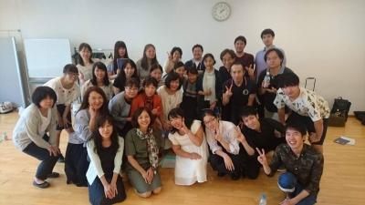 県大会当日練習 生涯学習センター2017.8.20