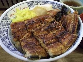 磯丸鰻丼2017.7