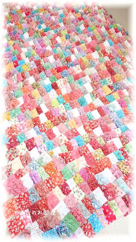 パフでこたつ布団作り ⑦-2