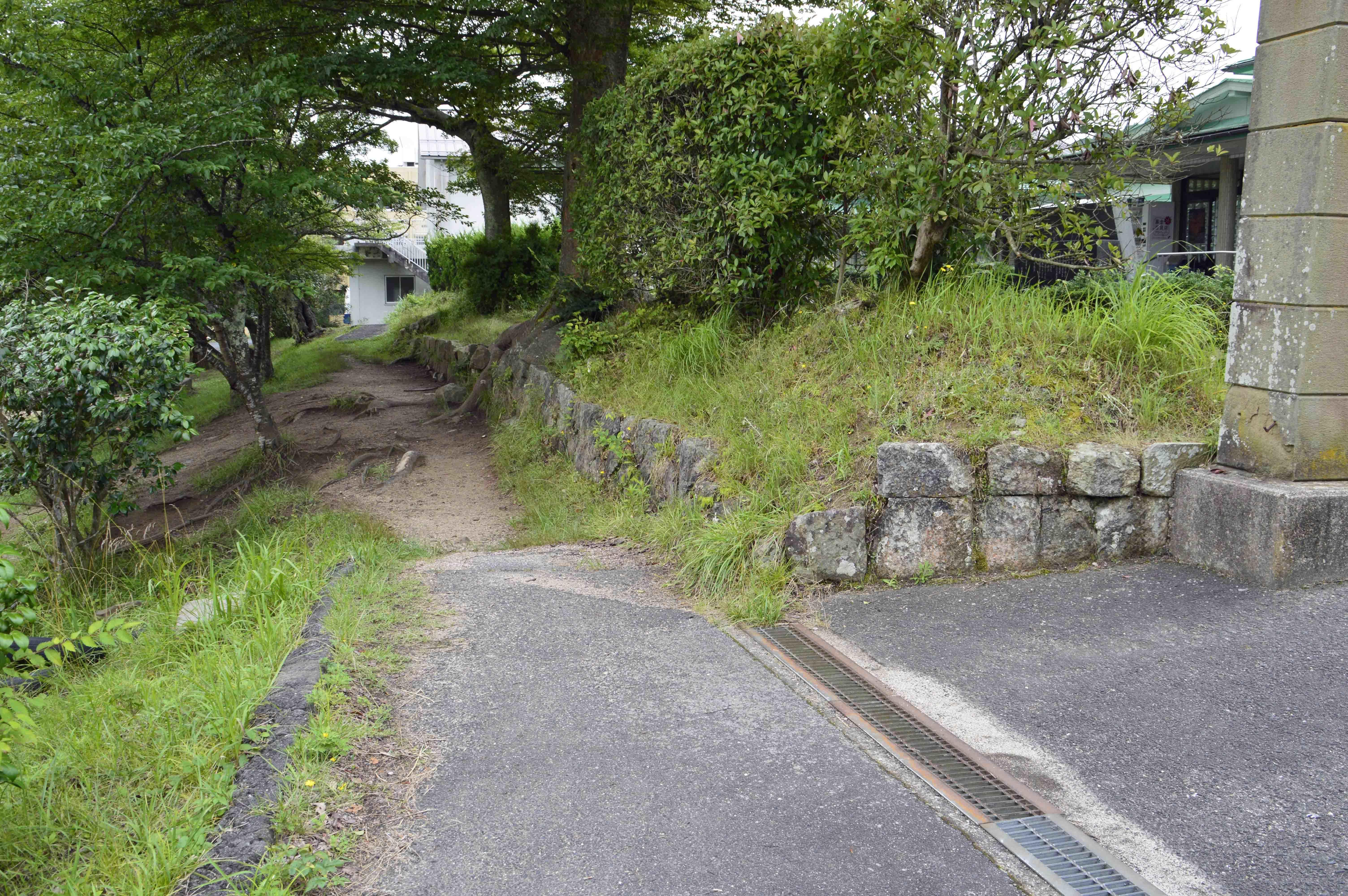 広瀬陣屋 石垣 1