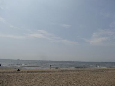 稲毛海岸、その1