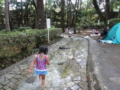 公園じゃぶじゃぶ池、その1