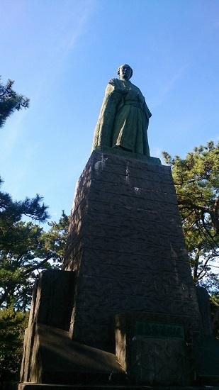 桂浜 龍馬像