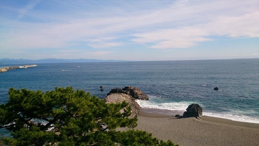 桂浜 太平洋
