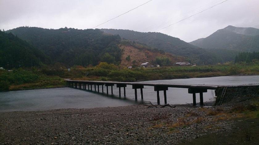 四万十川 佐田の沈下橋