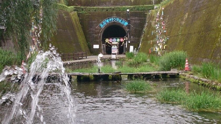 高森湧水トンネル 入口2