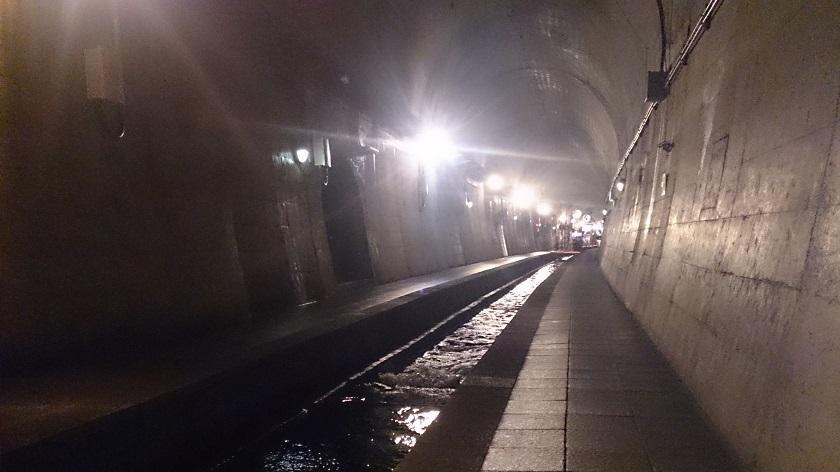高森湧水トンネル2